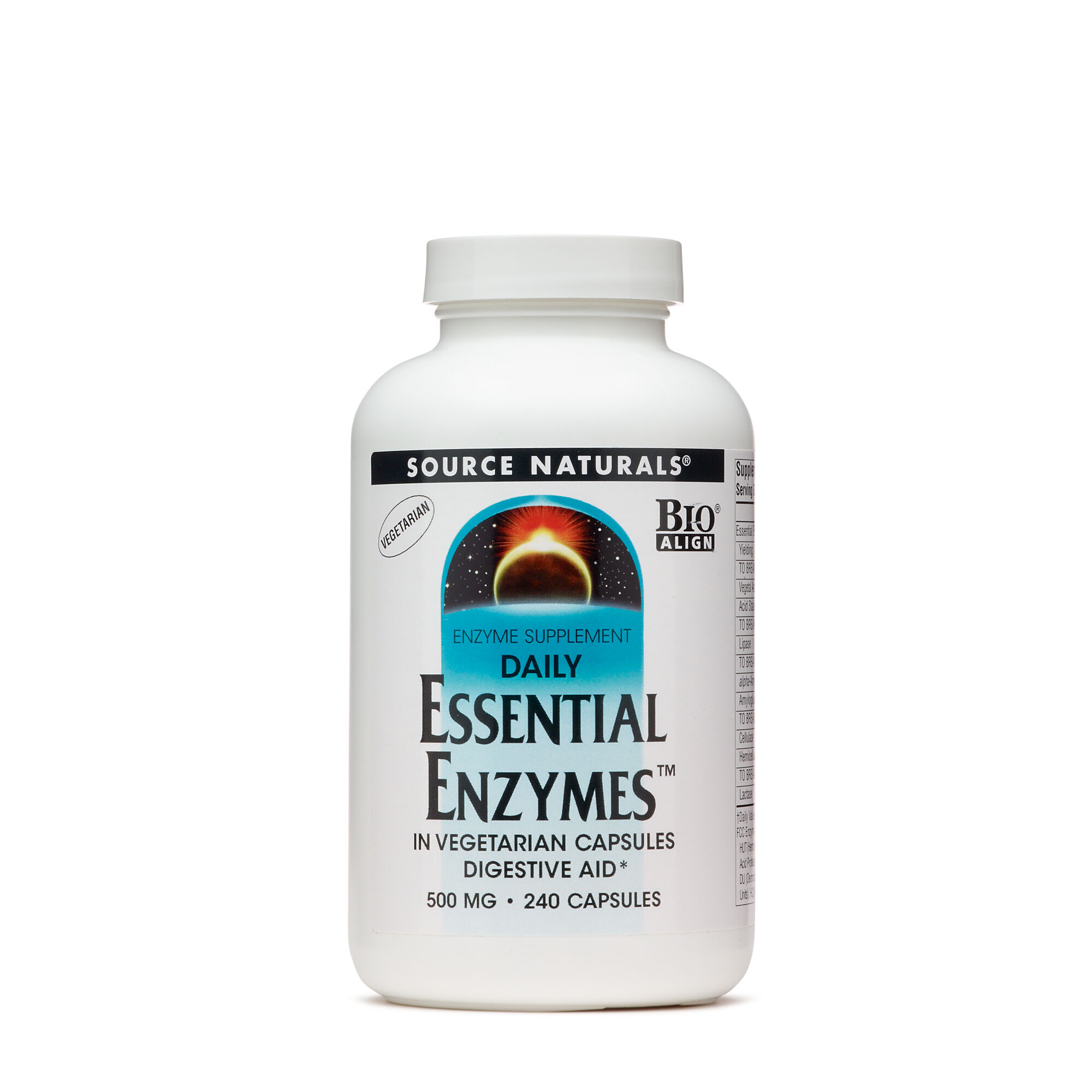 Source Naturals® Daily Essential Enzymes 500 mg