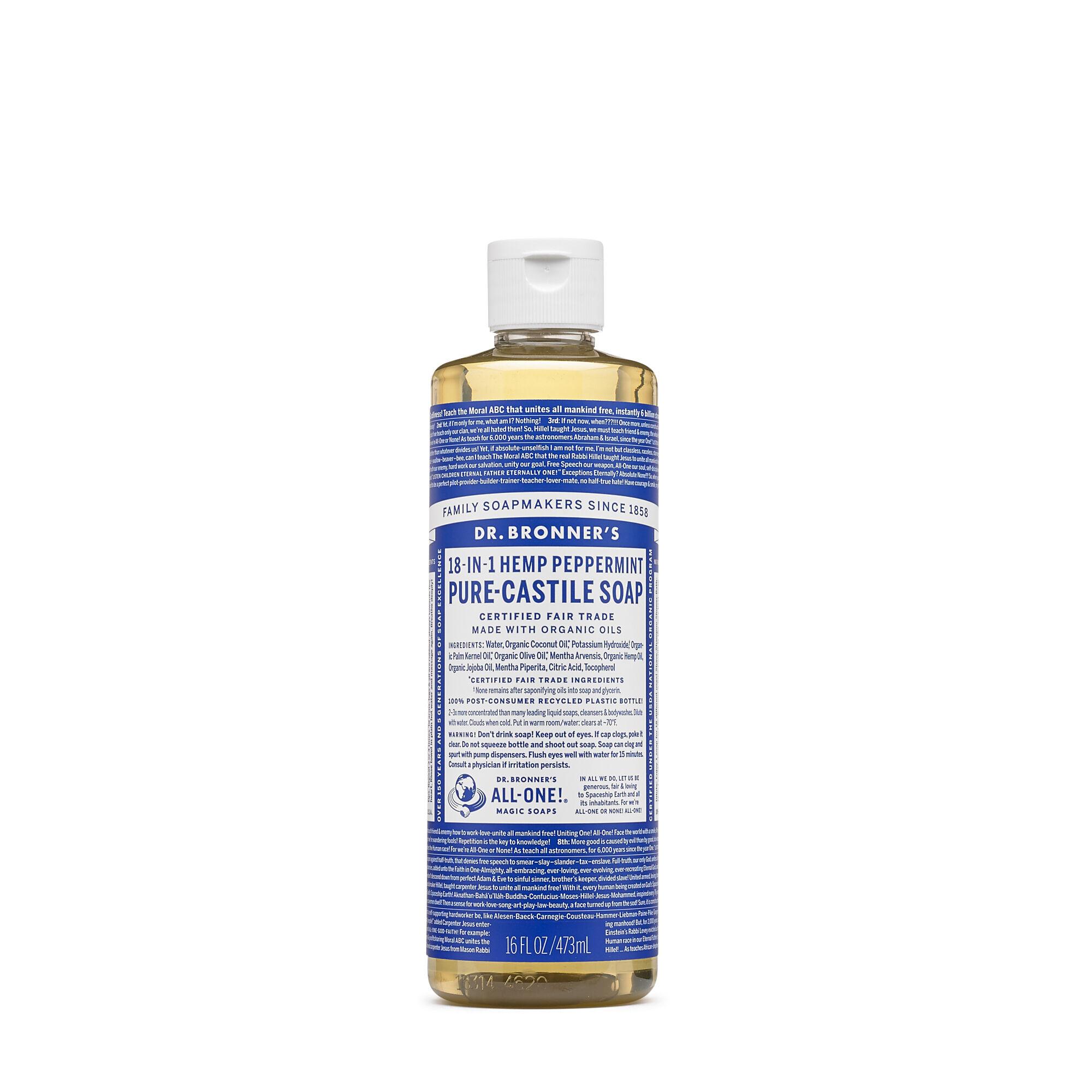 Dr  Bronner's Pure-Castile Liquid Soap - Peppermint