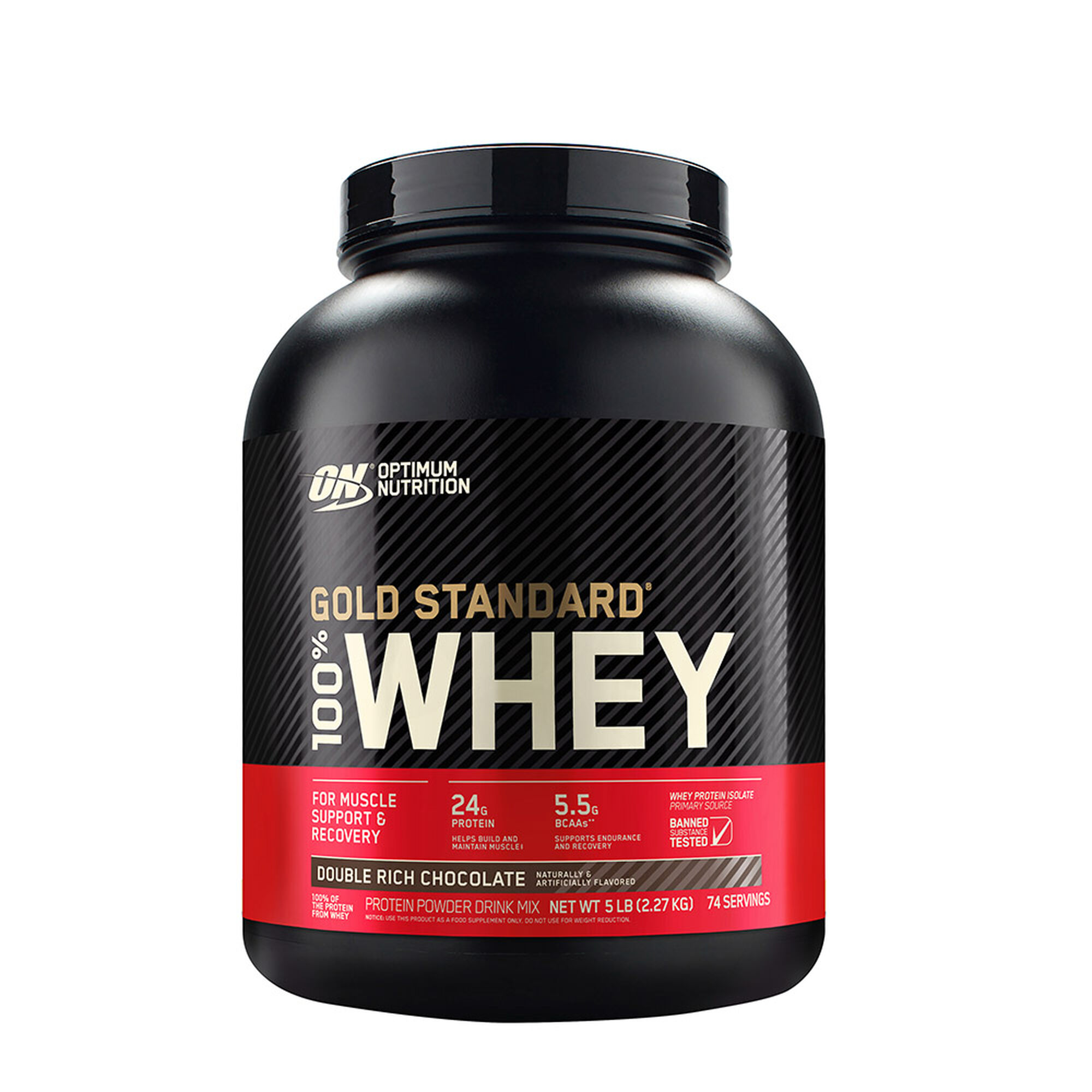 Optimum Nutrition Whey Protein Double Rich Chocolate Gnc