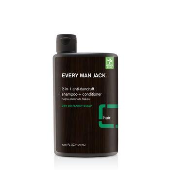 2-in-1 Anti-Dandruff Shampoo + Conditioner - Eucalyptus Mint | GNC