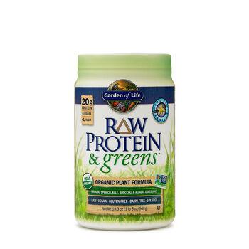Garden Of Life Raw Protein Greens Real Vanilla Gnc