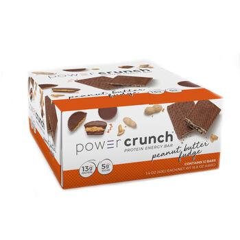 Power Crunch® Peanut Butter FudgePeanut Butter Fudge   GNC