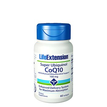 Super Ubiquinol CoQ10 100 mg | GNC