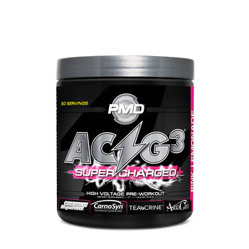 ACG3® Supercharged - Pink LemonadePink Lemonade   GNC