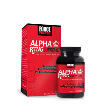 Alpha King Supreme Elite Testosterone Booster | GNC