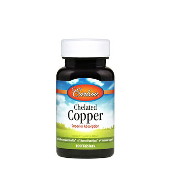 Chelated Copper | GNC
