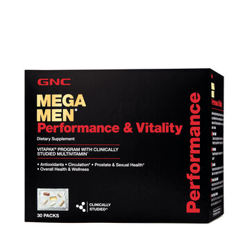 Gnc Mega Men 174 Performance Amp Vitality Vitapak 174 Program Gnc