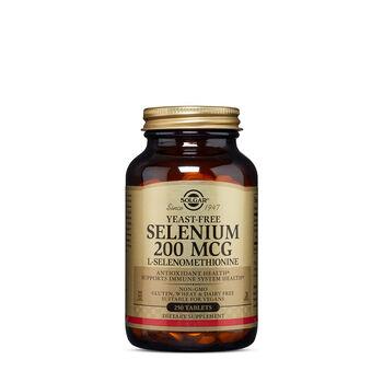 Yeast-Free Selenium 200 MCG L-Selenomethionine   GNC
