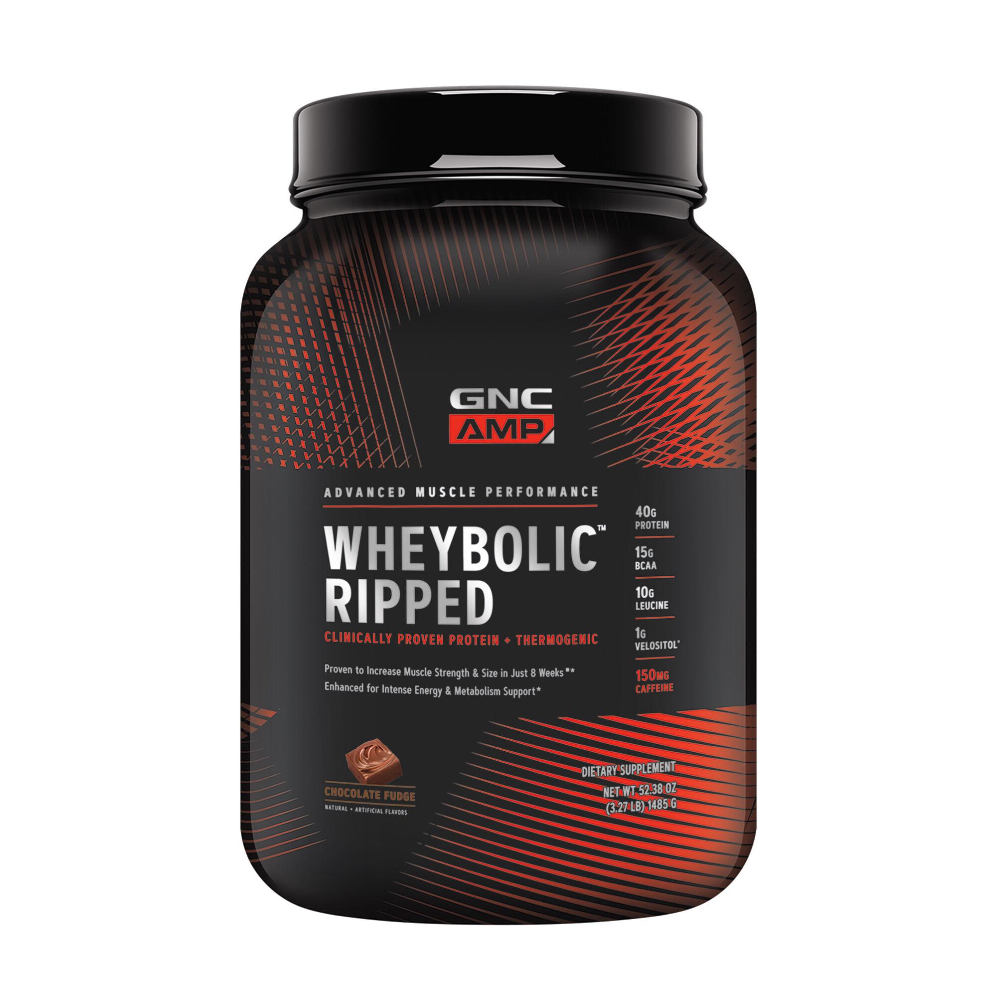 GNC AMP Wheybolic Ripped