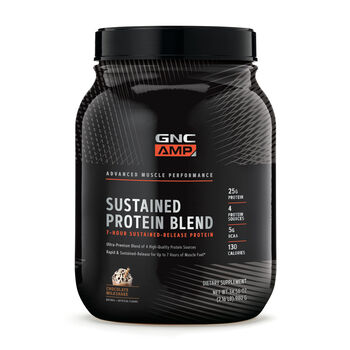 Sustained Protein Blend - Chocolate MilkshakeChocolate Milkshake | GNC
