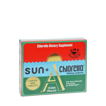 Dietary Chlorella Supplement A 500 mg.   GNC