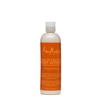 Argan Oil & Raw Shea Softening Body Lotion with Frankincense & Myrrh Extract | GNC