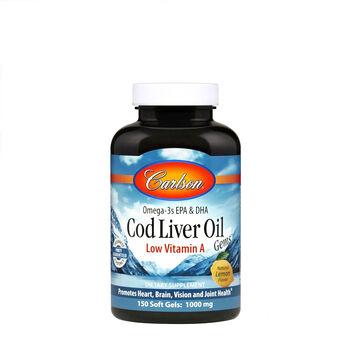 Cod Liver Oil Gems™ - Low Vitamin A - Lemon | GNC