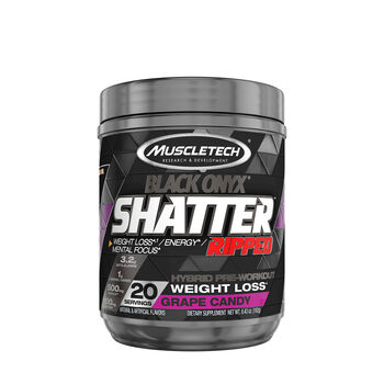 Shatter™ Ripped Black Onyx® - Grape CandyGrape Candy | GNC