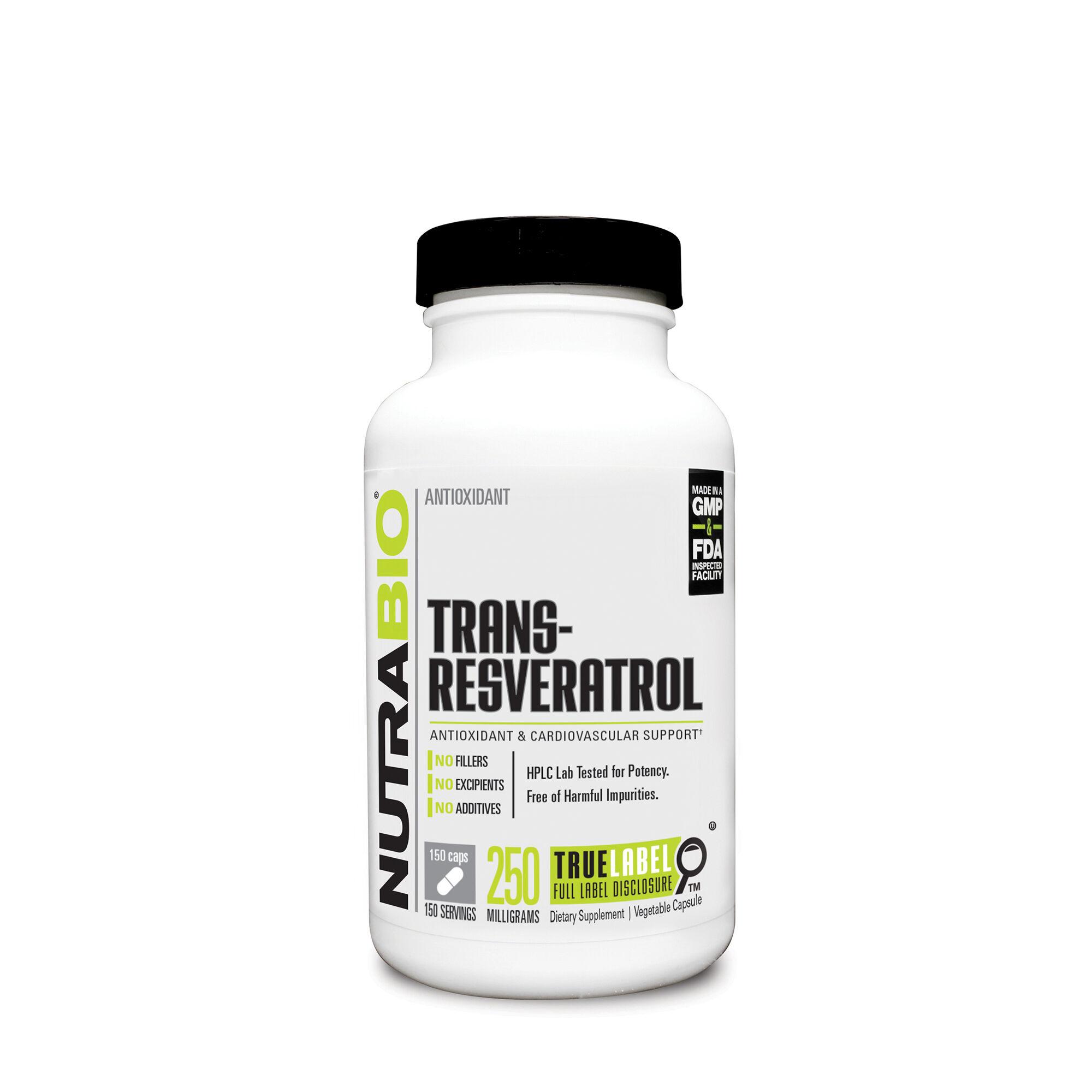 Nutrabio Trans Resveratrol Gnc