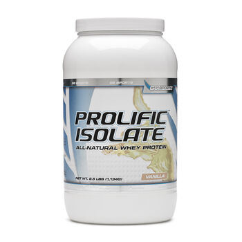 G6 Sports Prolific Isolate - VanillaVanilla | GNC