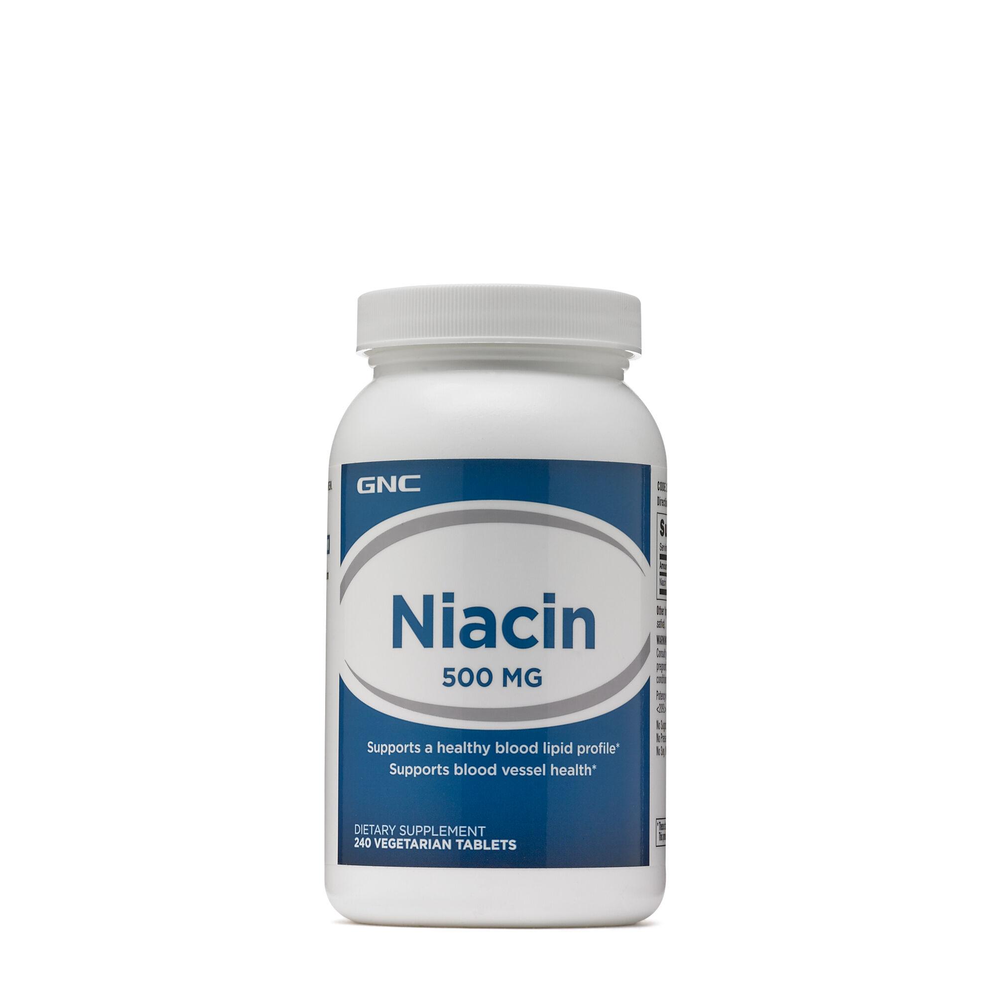 GNC Niacin 500 mg | GNC