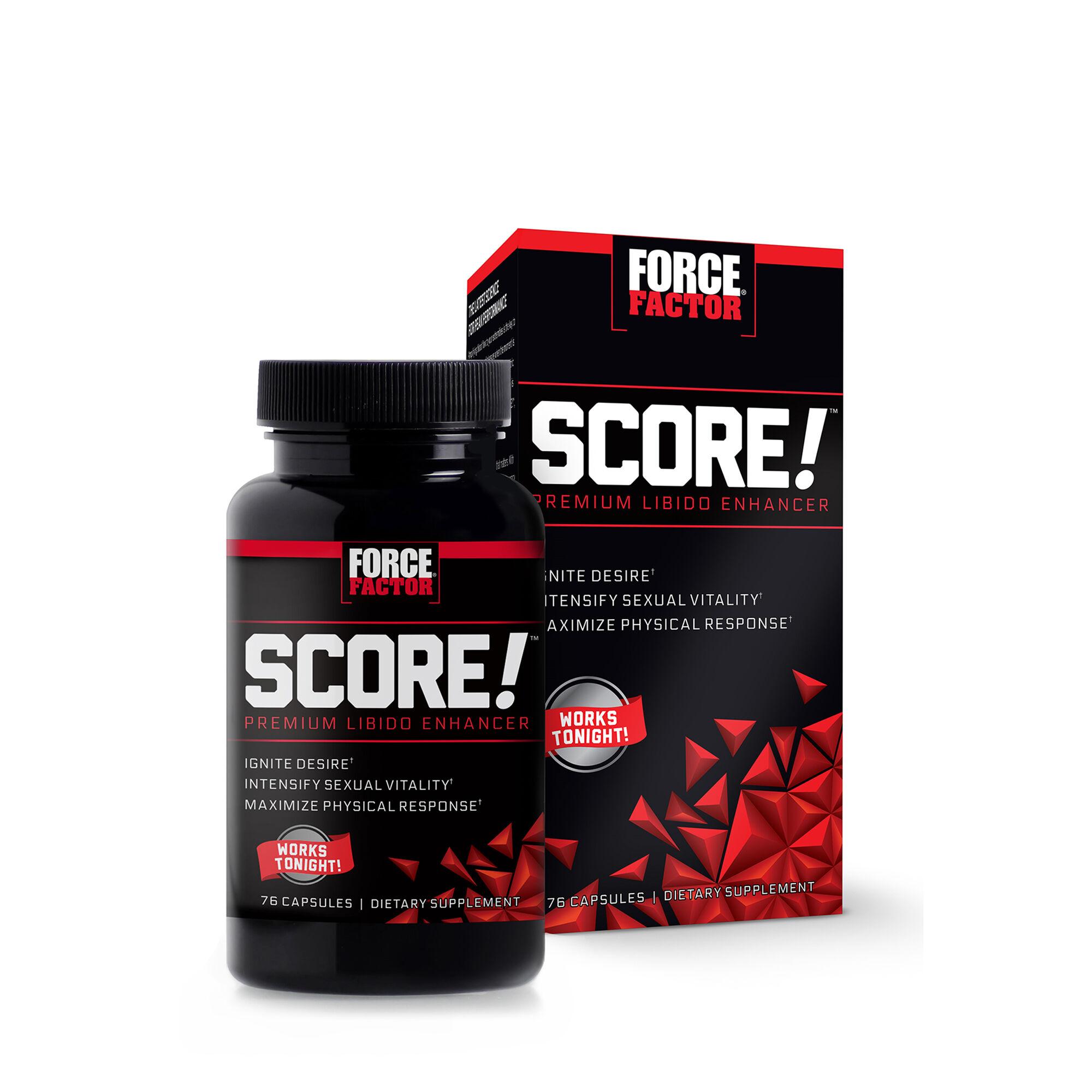 Force Factor® SCORE! Premium Libido Enhancer