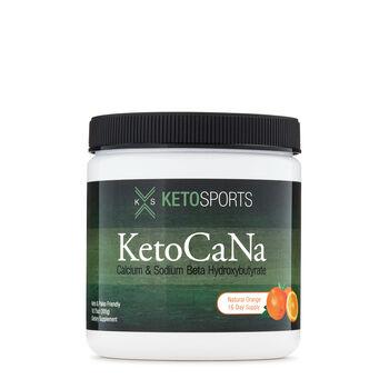 KetoSports KetoCaNa - Natural Orange   GNC