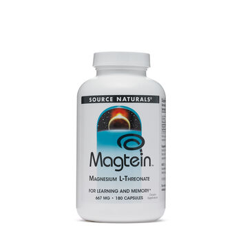 Magtein (Magnesium L-Threonate) 667 mg | GNC