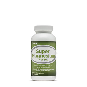 Super Magnesium 400 MG   GNC