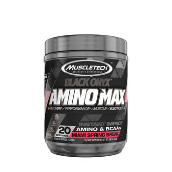 Amino Max Black Onyx® - Miami Spring BreakMiami Spring Break | GNC