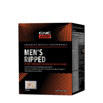 Men's Ripped Vitapak® Program with Metabolism | GNC