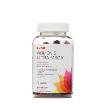 Women's Ultra Mega® Gummy Multivitamin - Mixed Berry | GNC