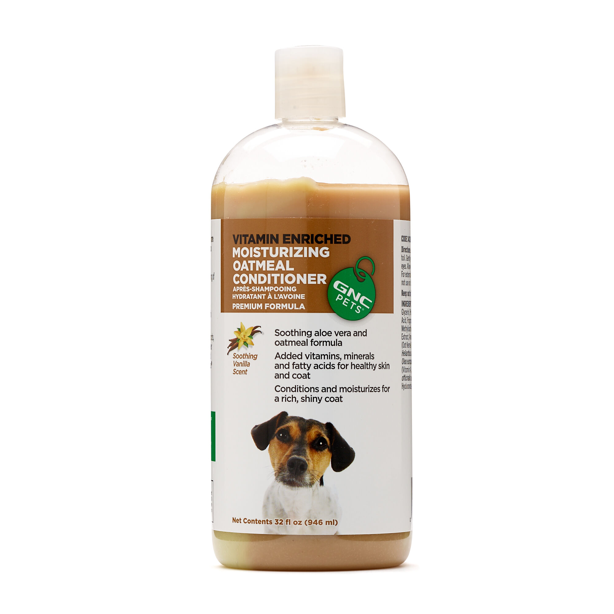 GNC Pets Moisturizing Oatmeal Conditioner - Vanilla Scented
