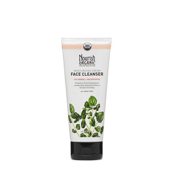 Moisturizing Cream Face Cleanser - Cucumber + Watercress   GNC