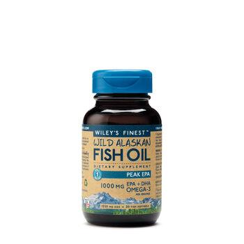 Wiley 39 s finest wild alaskan fish oil peak epa gnc for Wiley s fish oil