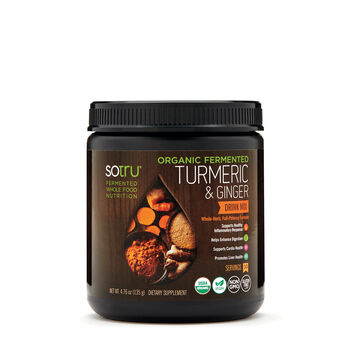 Organic Fermented Turmeric and Ginger Drink Mix | GNC