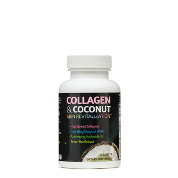 Collagen & Coconut Skin Revitalization | GNC