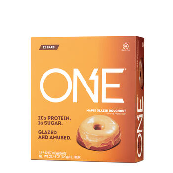 Protein Bar - Maple Glazed DoughnutMaple Glazed Doughnut | GNC