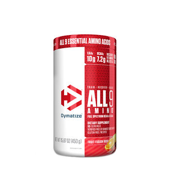 ALL 9 AMINO™ - Fruit Fusion RushFruit Fusion Rush | GNC