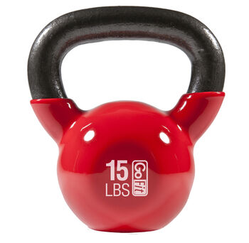 Premium Kettle Bell W/ Introductory Training DVD - 15 LB Red15 lb - Red | GNC