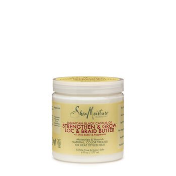 Jamaican Black Castor Oil Strengthen & Grow Loc & Braid Butter | GNC