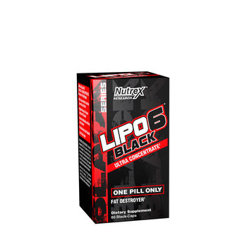 LIPO6 Black - Ultra Concentrate | GNC