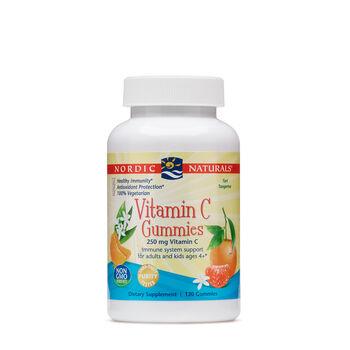 Vitamin C Gummies 250 mg - Tart Tangerine | GNC