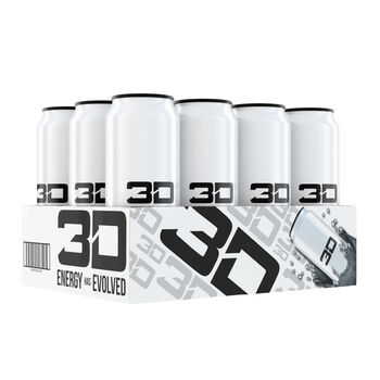 3d Energy Drink White Available In 12 Pack Case Gnc