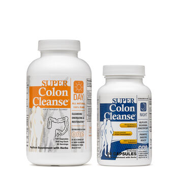 Health Plus® Inc. Super Colon Cleanse® Day & Night | GNC