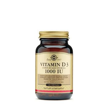 Vitamin D3 25 mcg (1000 IU) | GNC