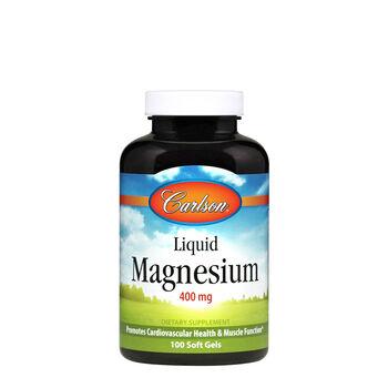 Liquid Magnesium 400 mg   GNC