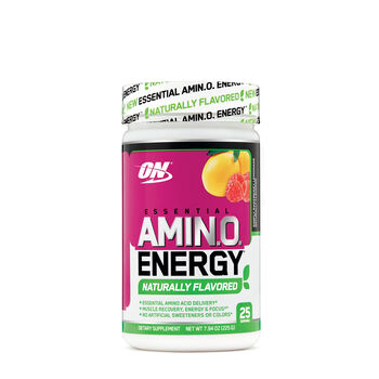 Essential AMIN.O. Energy™ Naturally Flavored - Simply Raspberry LemonadeSimply Raspberry Lemonade | GNC