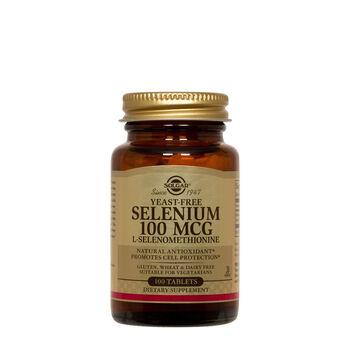 Yeast-Free Selenium 100 MCG L-Selenomethionine  | GNC