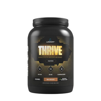 Thrive - Vegan Protein - Milk Chocolate | GNC
