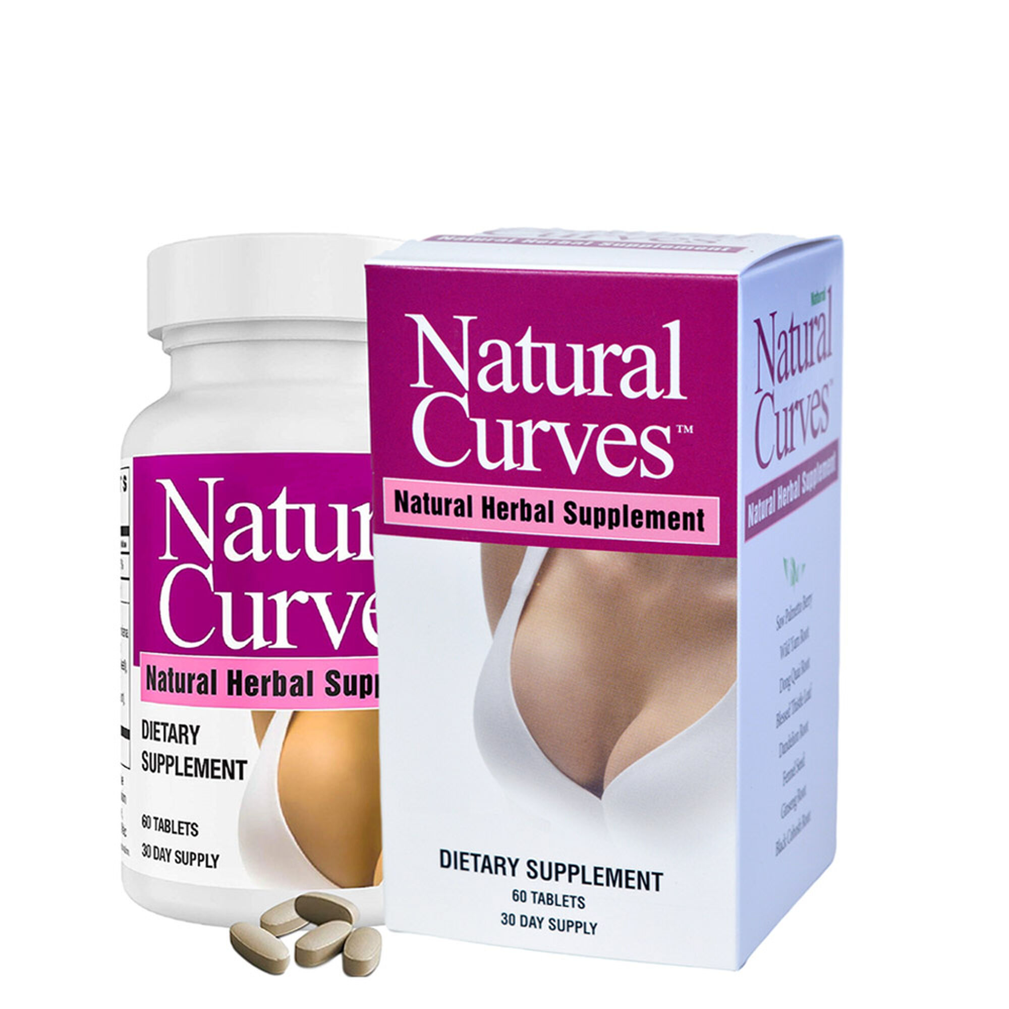 Natural Curves Natural Herbal Supplement Gnc