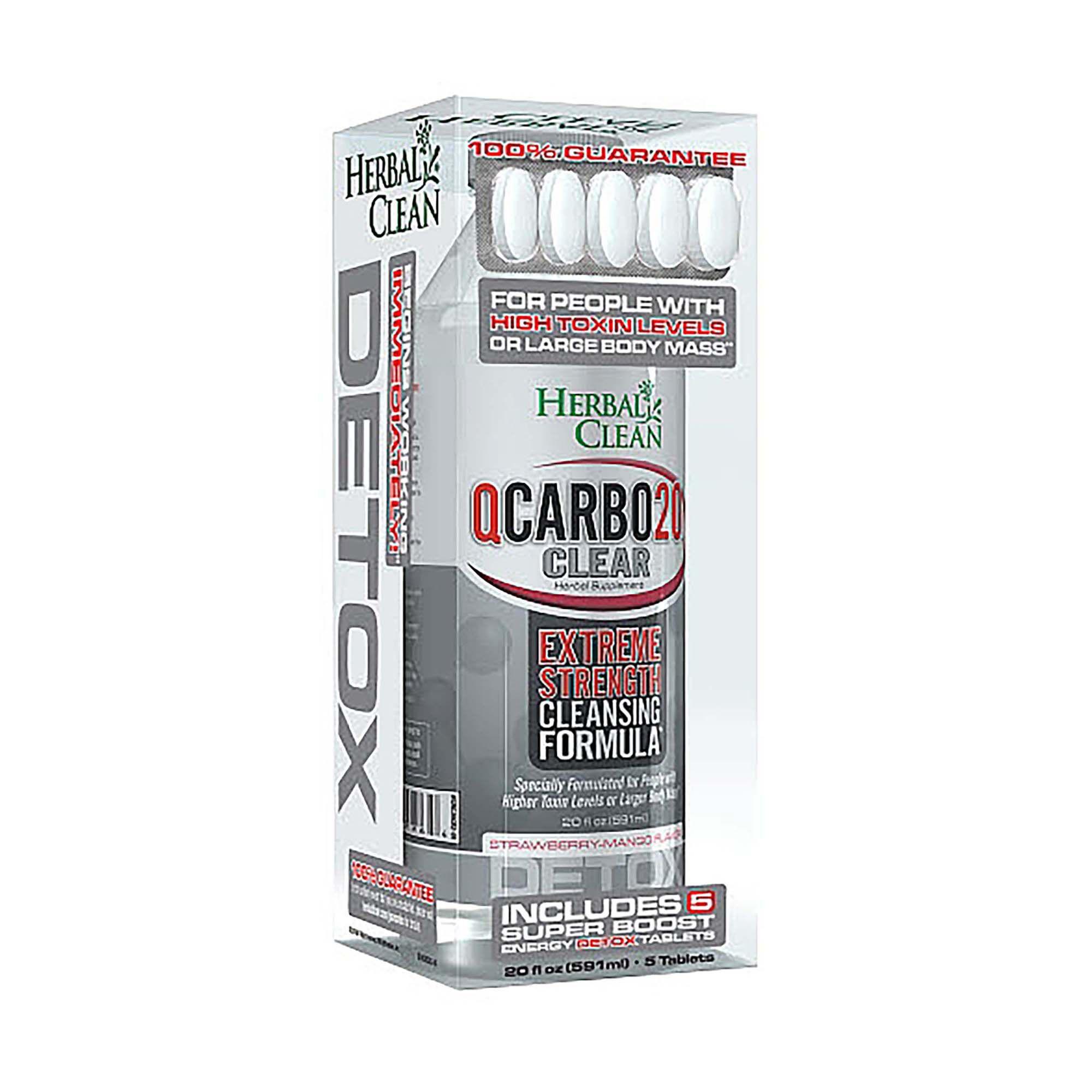 Herbal Clean® QCARBO20™ CLEAR