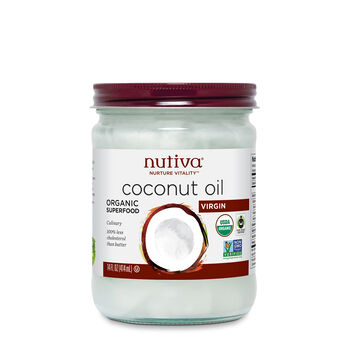 Organic Coconut Oil- Virgin | GNC
