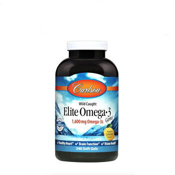 Elite Omega-3 Gems™ 800 mg - Natural Lemon Flavor | GNC